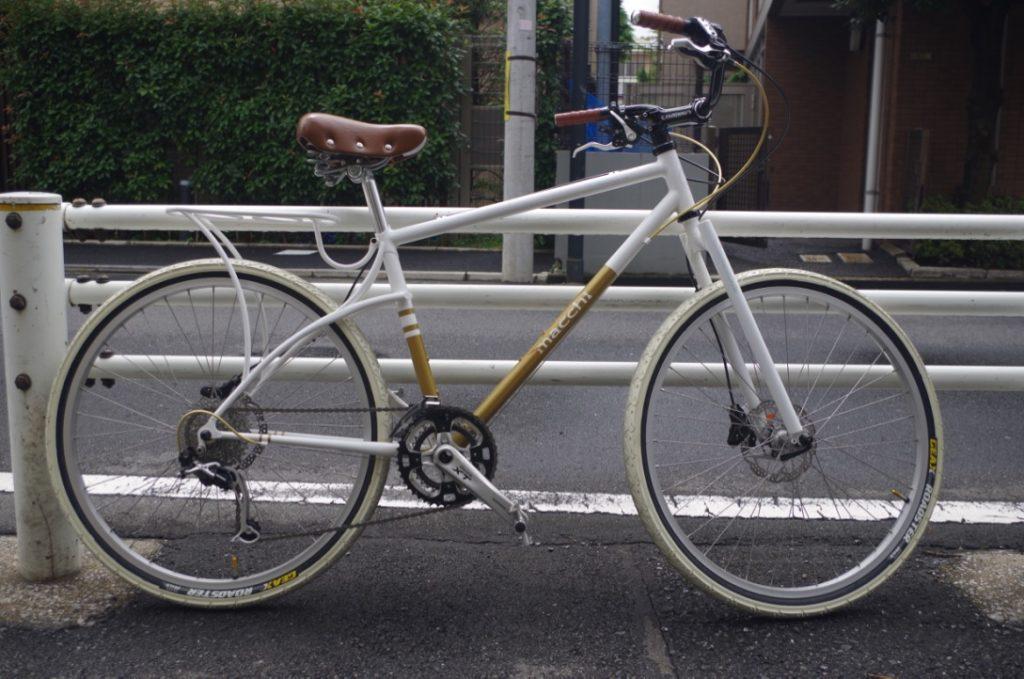 macchi cycles mtb 街乗り
