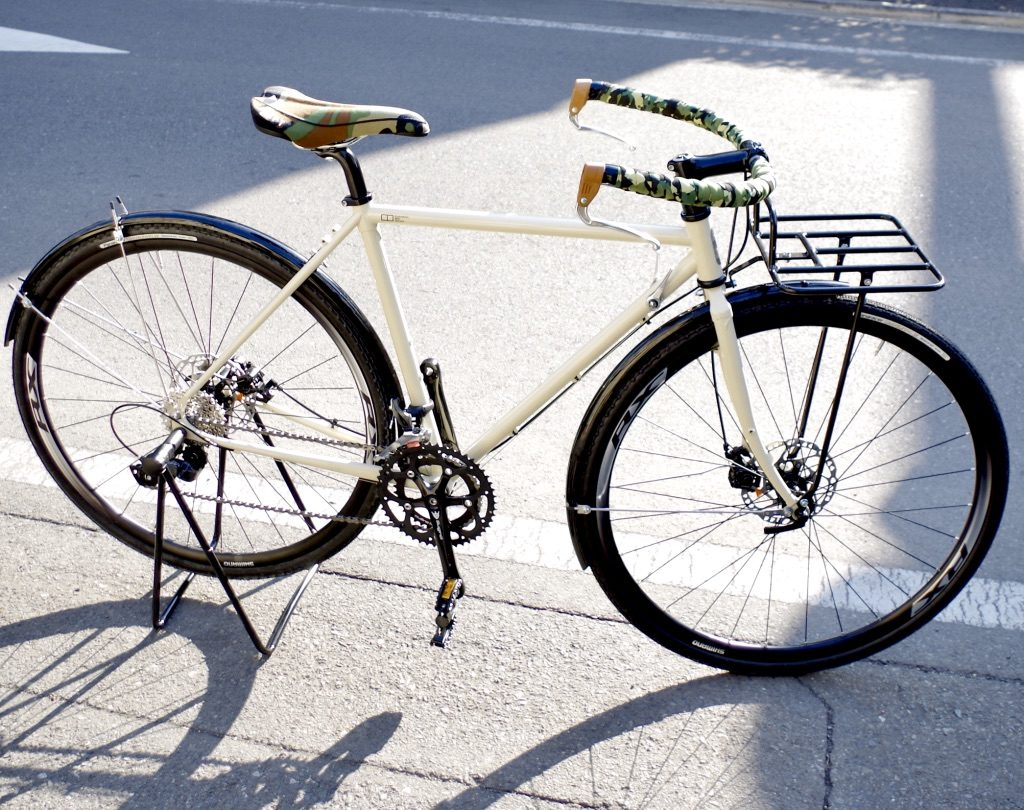 EBS STUFF クロモリ ハンドメイド自転車 コミューター
