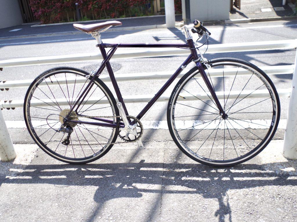 E.B.S FLAOT 700R ハンドメイド自転車 クロモリ 三鷹 吉祥寺