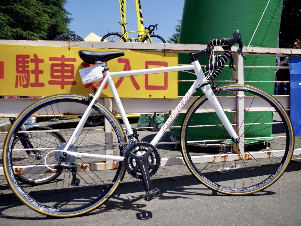 ケルビム ミニベロ クロモリ ハンドメイド自転車 クロモリロードバイク