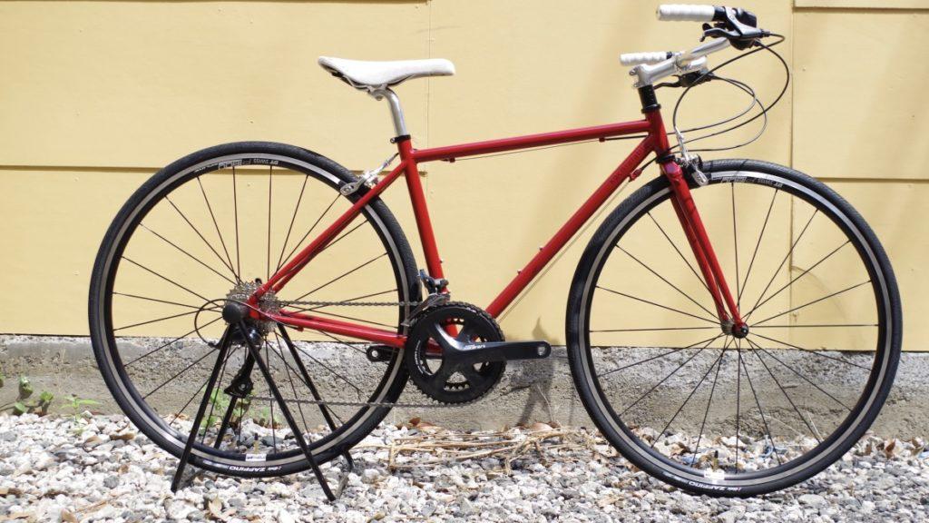 kachialable staytune クロモリロードバイク ハンドメイド自転車 女性向け