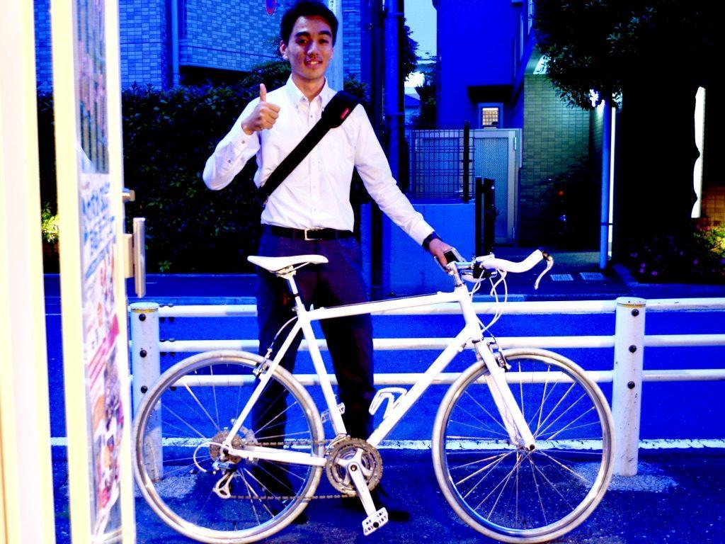ミニベロ クロスバイク カスタム 自転車屋 武蔵野市 三鷹 ブルホーン