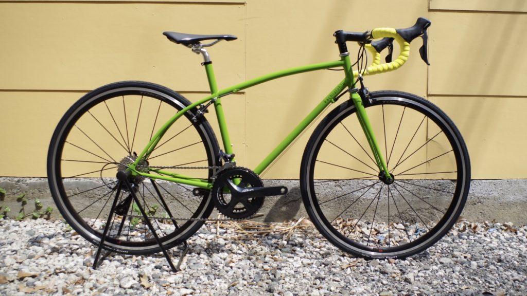 kachialable killertune ハンドメイド自転車 クロモリロードバイク