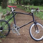 E.B.S FLOAT451 ハンドメイド自転車 クロモリ ミニベロ クロモリロードバイク