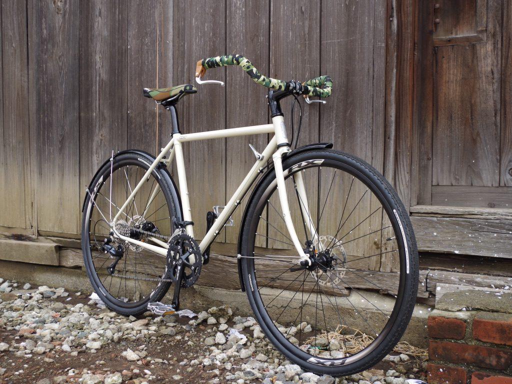 E.B.S SUFF コミューター クロモリロードバイク ハンドメイド 自転車 武蔵野市 三鷹