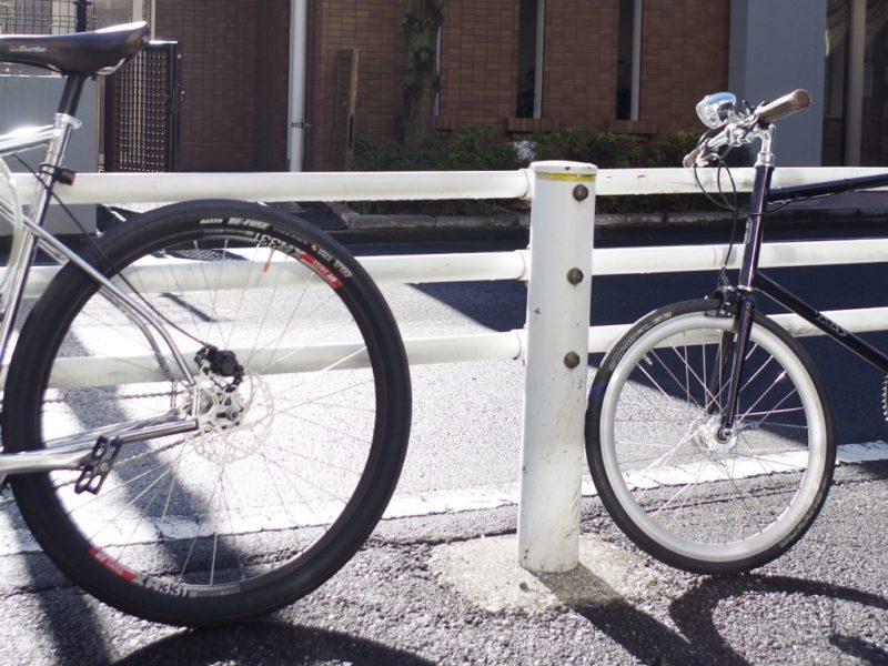 武蔵野市 自転車屋 修理 カスタム 販売 ミニベロ クロスバイク クロモリ ロードバイク