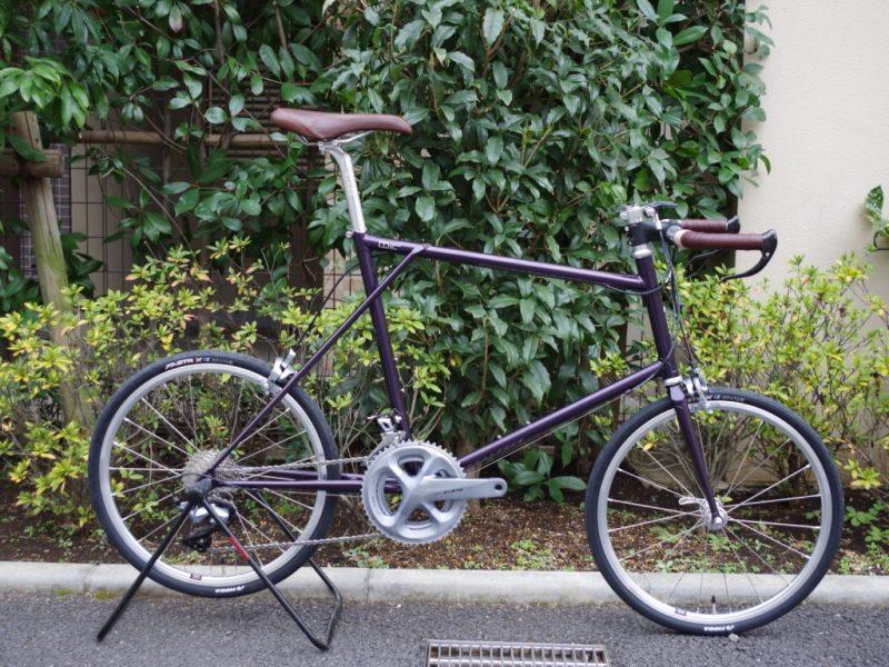 E.B.S FLOAT451 ミニベロ クロモリミニベロ ハンドメイド 三鷹駅北口 武蔵野市 自転車屋 おしゃれ