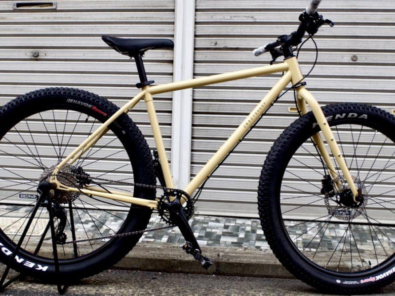クレイジーシープ ビッグホーン crazysheep bighorn ハンドメイド自転車 クロモリ