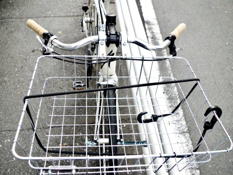 ロードバイク クロスバイク カゴ カスタム