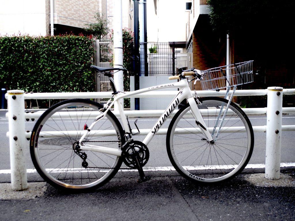 ロードバイク カゴ カスタム