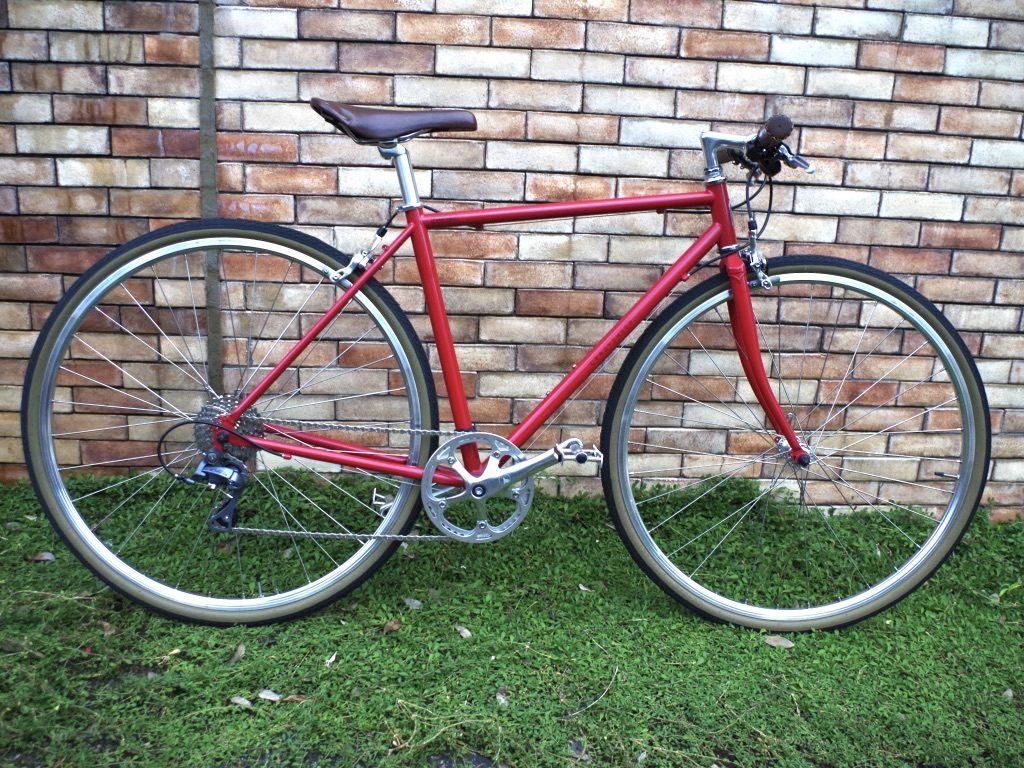 クレイジーシープ crazysheep ペレンデール クロモリ クロスバイク 自転車 三鷹 吉祥寺 武蔵野市