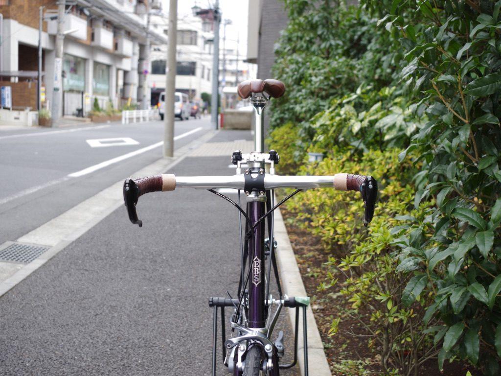 E.B.S FLOAT451 ミニベロ クロモリミニベロ ハンドメイド 三鷹駅北口 武蔵野市 自転車屋