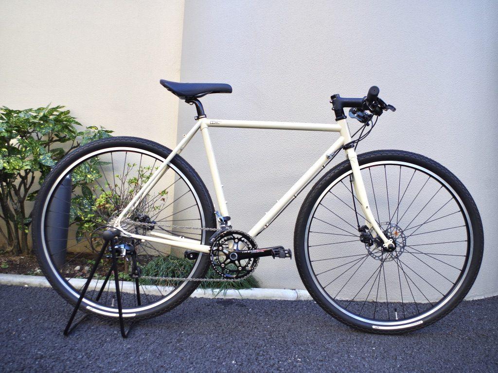 E.B.S STUFF ハンドメイド自転車 クロモリ クロスバイク ロードバイク 武蔵野市 吉祥寺 自転車 グラベル おしゃれ
