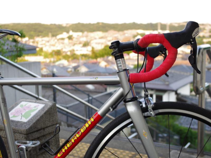 東京 レンタサイクル cherubim ハンドメイド ロードバイク クロモリ 武蔵野市 吉祥寺 三鷹