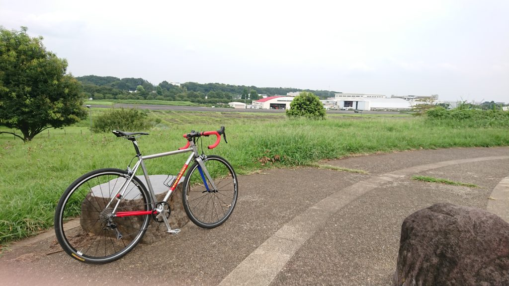 東京 レンタサイクル 調布飛行場 ハンドメイド ロードバイク クロモリ 武蔵野市 吉祥寺 三鷹