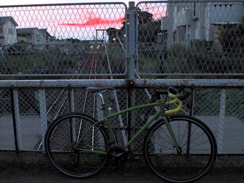 東京 レンタサイクル cherubim ハンドメイド ロードバイク クロモリ 武蔵野市 吉祥寺 三鷹 レンタル 初心者 多摩サイ 多摩川サイクリングロード 城南島海浜公園